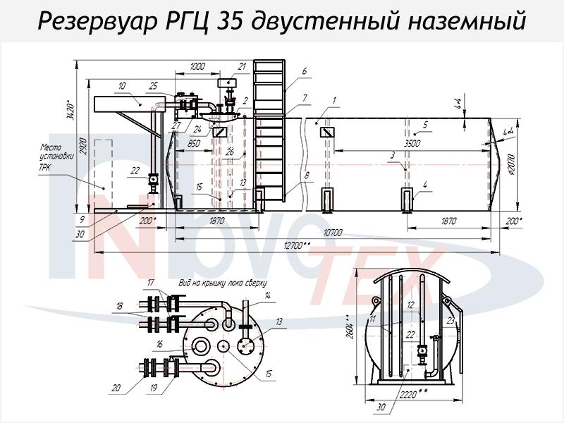 Азс схема резервуаров 137